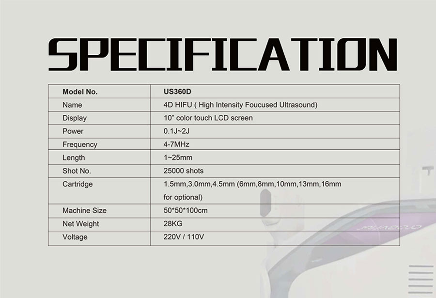 Ultra-U-One-specifications